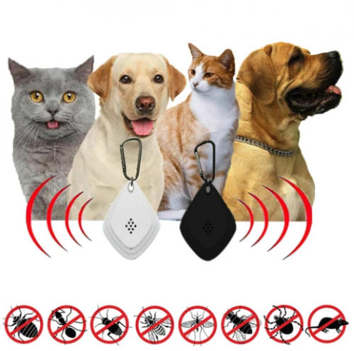 Ultrasonic Flea And Tick Repeller - Dog & Pets