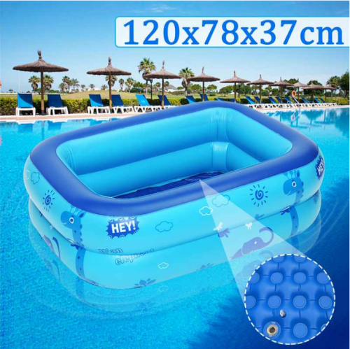 Inflatable Pool Kids Baby Foldable 4ft