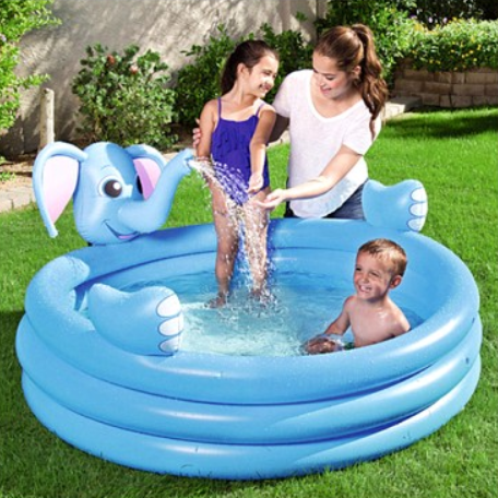 Inflatable Swim Pool Water Spraying Splash