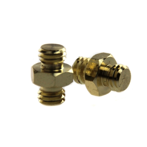 "CAMVATE Male To Male Threaded Screw Adapter 3/8"" To 3/8"""
