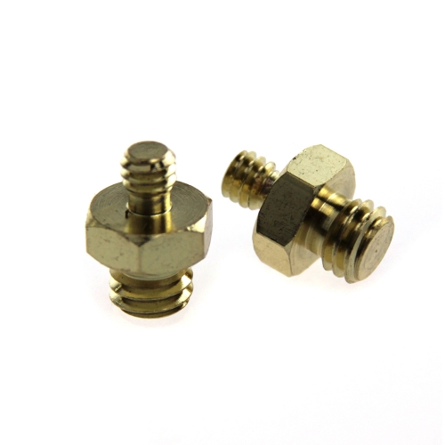 "CAMVATE Male To Male Threaded Screw Adapter 1/4"" To 3/8"""