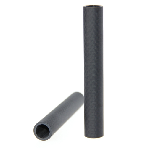 CAMVATE 15mm Carbon Fiber Rods 10cm Length for DSLR Shoulder Rig