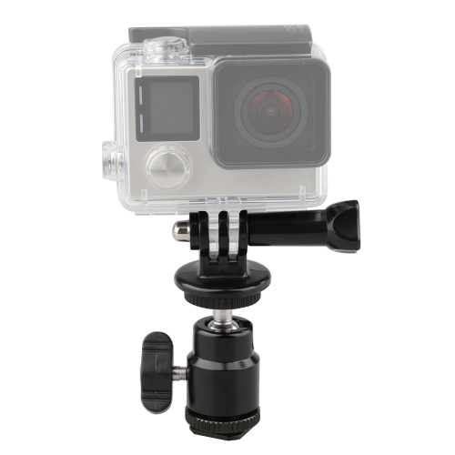 360 Degree Rotating Clip Clamp Mount Tripod Adapter for Gopro HD Hero Camera