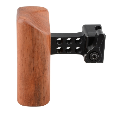 CAMVATE DSLR Wood Wooden Handle Grip (Left Hand)