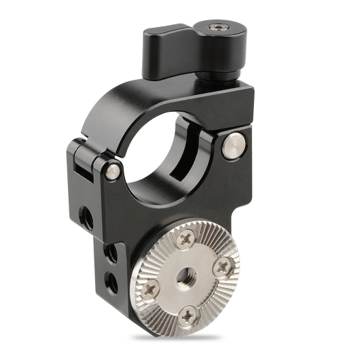 CAMVATE 25mm Single Rod Clamp with Arri Rosette Lock for Ronin-M Gimbal Stabilizer (Black Thumbscrew)