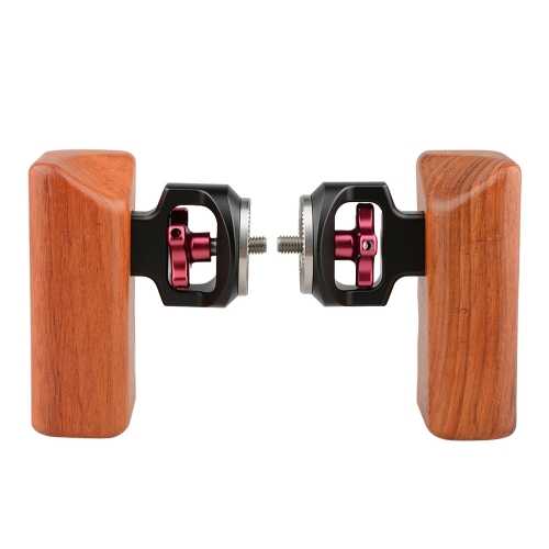 Doubl Wooden handgrip Compatible with standard ARRI rosettes