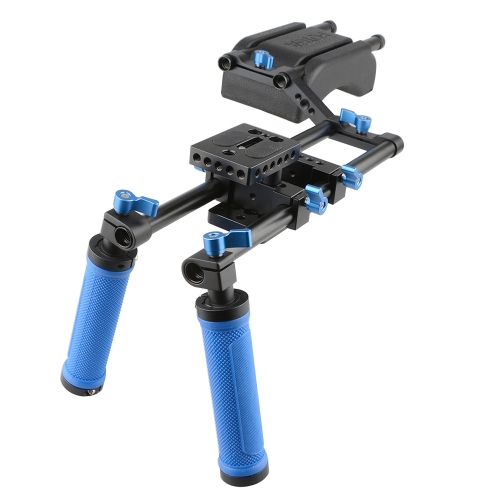 CAMVATE Shoulder Support Dual Handgrip Movie Kit (Pro)