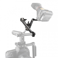CAMVATE EVF Mount LCD Monitor Support with 15mm Rod Clamp