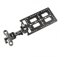 CAMVATE Adjustable Battery Support Bracket With Cheese Plate