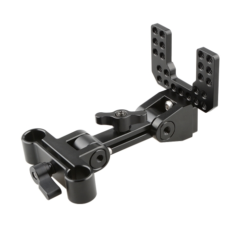 CAMVATE Adjustable Monitor Support With Back Plate For SmallHD 700 Series