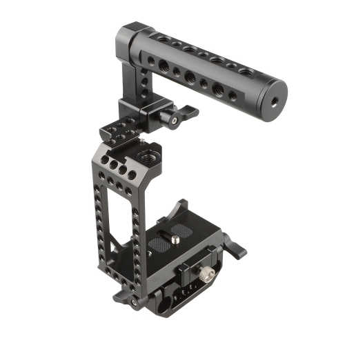 CAMVATE C-frame Cage With Cheese Handle For Sony A7s A7RII A7s2 A7sII A7r3 A73 A9