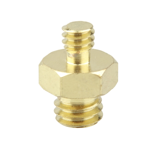 "CAMVATE Double Male Threaded Screw Adapter 1/4"" to 3/8"" Convert Adaptor Hexagon"