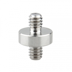 "Camvate 1/4""Male to 1/4""Male Double-ended Screw Adapter"