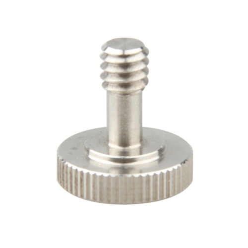 CAMVATE1/4 Hand Screw Adapter Stainless Steel New