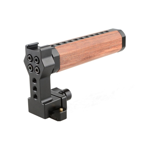 CAMVATE QR Wooden Top Handle With NATO Rail And Cold Shoe