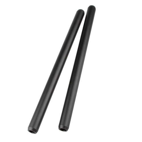 CAMVATE 19mm Aluminum Rod 30cm For DLSR Camera Cage Rig (2 Pack)