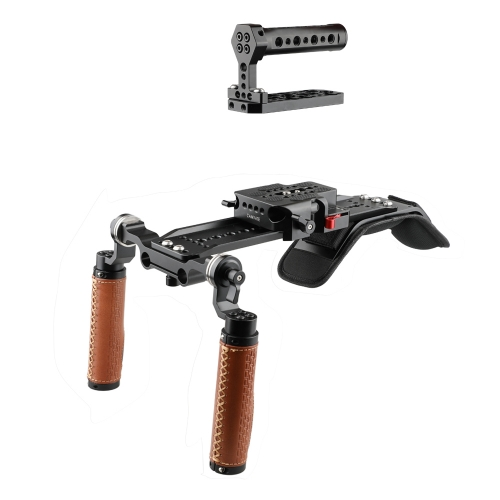 CAMVATE Shoulder Rig Handle Kit For URSA Mini