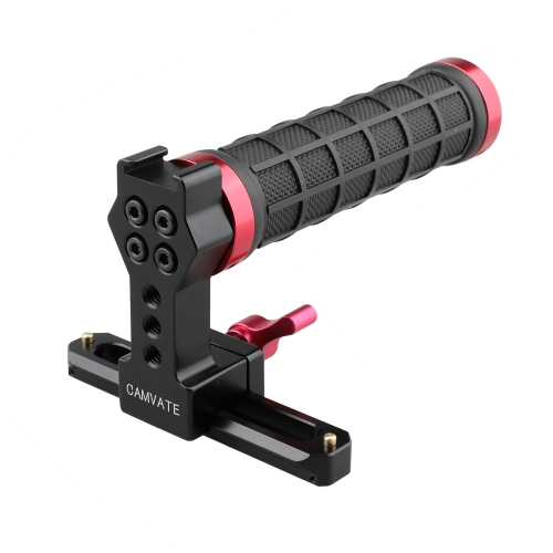 CAMVATE Quick Release Handle (Nato Rail Handgrip Top Handle) with 100mm NATO Rail
