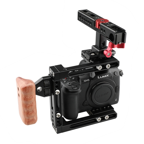 CAMVATE Dual-use Adjustable Cage with NATO Handle for 5D MarkIII