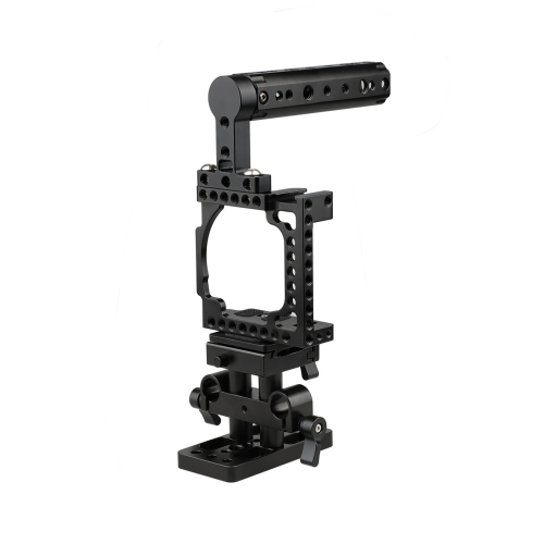 CAMVATE Cage With QR Baseplate Pack for Sony A6500 A6300 A6000