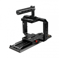 CAMVATE Full Frame Cage Rig With ARRI Sliding Dovetail Plate For RED DSMC2 Cameras