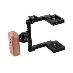 CAMVATE Blackmagic Pocket Camera 4K Cage Kit With Left Handle