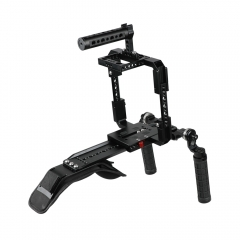CAMVATE Pro Shoulder Rig Full Frame Cage Kit For RED DSMC2 Cameras