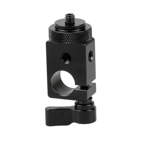 "CAMVATE 15mm Single Rod Clamp with 1/4"" Mount"