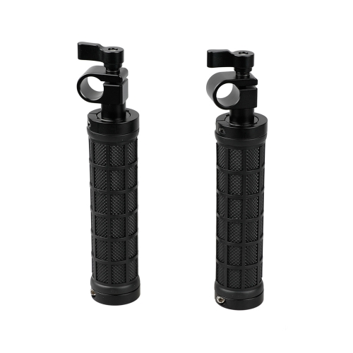 2x New 15mm Rod Clamp Camera Handle Grips fr Shoulder Mount DSLR Support Rig