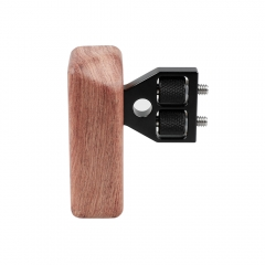 CAMVATE DSLR Wood Wooden Handle Grip Mount Support fr DV Video Cage Rig