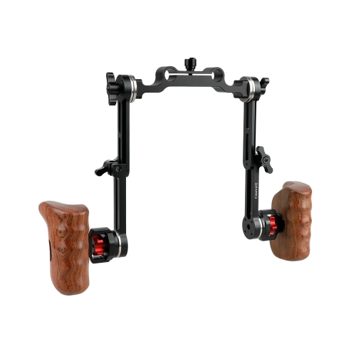CAMVATE Extension-type Shoulder Rig ARRI Rosette Handle Kit