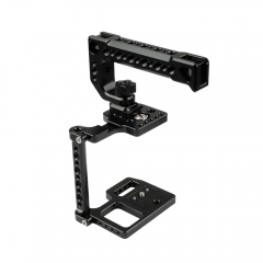 CAMVATE BMPCC 4K Camera Cage With Top Cheese Handle And Shoe Mount