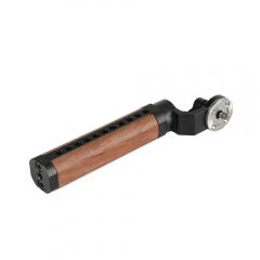 CAMVATE ARRI Rosette Wooden Handgrip For DSLR Shoulder Rig