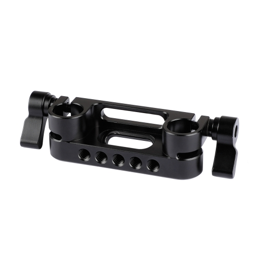 CAMVATE 15mm Dual Rod Clamp For Shoulder Pad