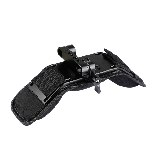 CAMVATE Shoulder Pad With Dual Rod Clamp For 15mm Railblock Support System