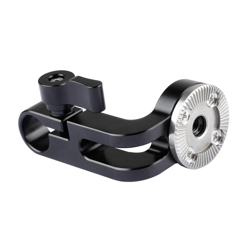 CAMVATE ARRI Rosette M6 Female Thread Adapter & 15mm Rod Clamp