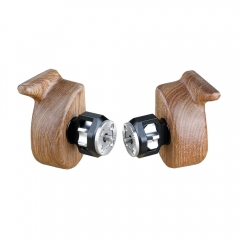 CAMVATE Wooden Camera Handgrip With ARRI Rosette M6 Screw (Left & Right)
