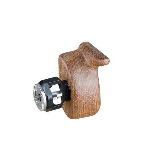 CAMVATE Wooden Camera Handgrip With ARRI Rosette M6 Screw (Right)