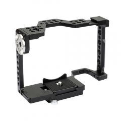 CAMVATE Full Camera Cage With Quick Release Attachment & ARRI Rosette For Sony a7 II, a7R II, a7S II, a7 III, a7R III, a9 Series