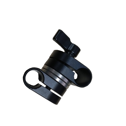 CAMVATE Adjustable 15mm Dual Rod Adapter With ARRI Rosette