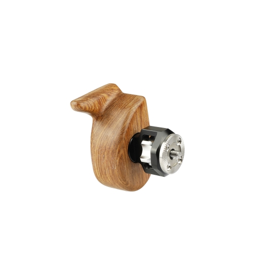 CAMVATE Wooden Camera Handgrip With ARRI Rosette M6 Screw (Left)