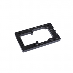 CAMVATE Camera Battery Cheese Plate For Power Supply Splitter