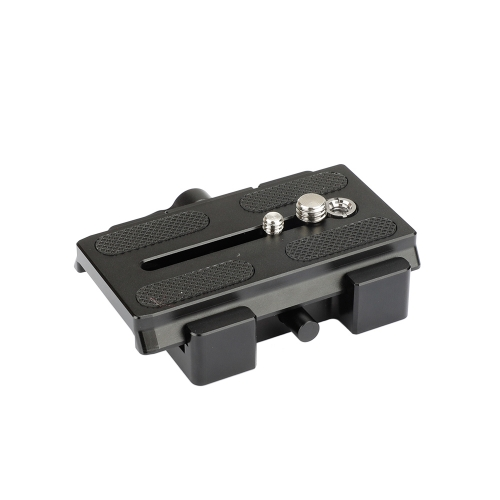 CAMVATE Manfrotto Type Quick Release Assembly With Sliding Plate Camera Mount