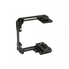 CAMVATE Adjustable Camera Half Cage Rig With Manfrotto Quick Release Baseplate
