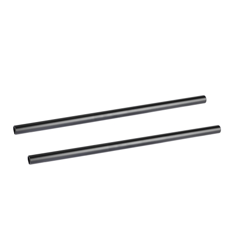 CAMVATE Threaded 15mm Aluminum Rod Set 350mm Long For DSLR Camera Cage Rig (A Pair)