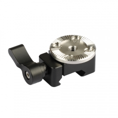 CAMVATE Quick Release NATO Clamp With ARRI Rosette M6 Thread Mount