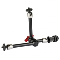 "CAMVATE Multi-purpose 11"" Articulating Magic Arm With Three Arms And Shoe Mount"