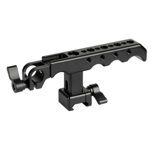 CAMVATE NATO Cheese Handgrip With 15mm Rod Clamp For DSLR Camera Cage Rig