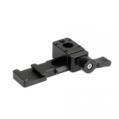 CAMVATE Swat Rail Clamp & Cold Shoe With NATO Rail Adapter