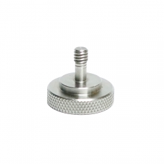 "CAMVATE 1/4""-20 Female To 1/4""-20 Male Adapter Screw Stainless Made"